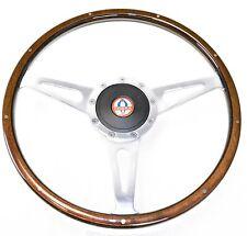 Mustang Steering Wheel Kit Lecarra Style Wood with Cobra Emblem  1965 - 1966