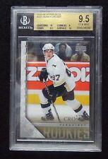 2005-06 UD YOUNG GUNS #201 SIDNEY CROSBY ROOKIE BGS 9.5 W/10 HIGH SUBS POP 1536