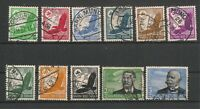 Germany 1934 Airmail Set Fine Used