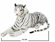 Soft Plush White Siberian Bengal Wild Tiger Teddy Toy Ornaments Baby Animal