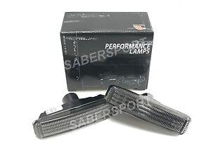 Pair Smoke Fender Side Marker Lights for 97-03 BMW E39 525i 528i 530i 540i M5