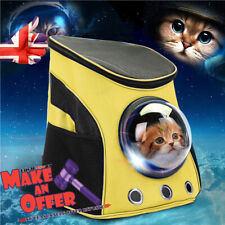 Astronaut Pet Backpack Breathable Pet Cat Puppy Carrier Travel Bag Space Capsule