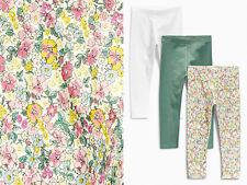 NEXT SET 3TLG Leggings mit Blumen für Mädchen 18-24 Monate 92cm 16b