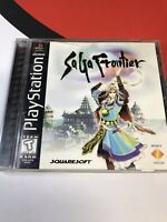 SaGa Frontier (Sony PlayStation 1, 1998) Complete PS1 - Cleaned And Tested