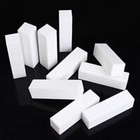 10Pcs Buffing Buffer Block Files Acrylic Pedicure Sanding Nail Art Manicure Tips