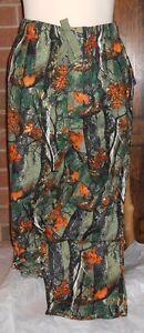 JOE BOXER LARGE LOUNGE LOUNGING PANTS MENS PAJAMAS BOTTOMS GREEN LEAVES HUNTING+
