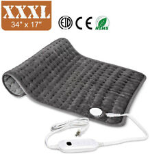 XXXL Size Hodiax Electric Heating Pad Ultra Wide Microplush For Shoulder Feet
