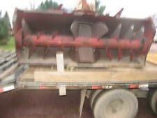 Lundell  8'  Snow Blower Tractor 3 Pt.  Hydraulic Spout