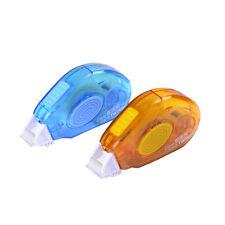 New Blue/Orange 5M Roller Pen Glue Double Sided Tape Adhesive Transfer RandomM&C