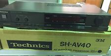 TECHNICS SH-AV40 AV SURROUND PROCESSOR 1987 BRAND NEW RARE VINTAGE!