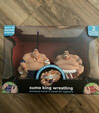 Wireless Head-2-head Remote Control Sumo King Wrestling Yin/Yang Fighters NIB