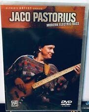 Jack Pastorius Modern Electric Bass Dvd. Brand New Sealed.