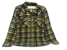 Levis Flannel Button Up Shirt Boys Small 8-10 Yrs