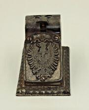 Zigarrenabschneider Cigar cutter Registrierkasse Eisenwerk Lauchhammer um 1900
