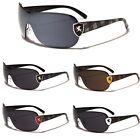 Khan Fashion Rimless Women Men Round Aviator Sunglasses Black Gold White Red