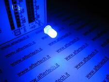 FOGGY 100 DIODI LED LEDS BLU 5mm BLUE LUCE DIFFUSA + RESISTENZE A2B22.A2C48