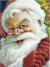 Santa Claus Kris Kringle Toys Christmas Large Impressions Decorative Flag