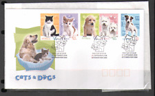 Australia 2004 Cats/Dogs/Pets/Animals 5v FDC (n16053)
