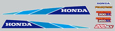 HONDA 1986 SX200 FOURTRAX DECAL SET REPRO   3 WHEELER
