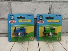 TOMY Thomas and Friends wind up trains RARE, Thomas & Percy, miniature, toy