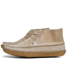 CLARKS ORIGINALS  ** EDMUND LANE ** SAND  COMBI ** UK 11 / 10.5