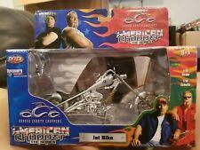 JoyRide OCC Orange County Chopper American Jet Bike 1:18 Diecast Jet Bike New