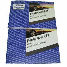 5 Zweckform Fahrtenbücher 223 A5 mit je 40 Blatt AVERY Formularbuch Fahrtenbuch