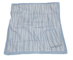 Euro European Pillow Shams Pillowcases Set of 2 AQ Textiles Light Baby Blue