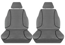 FULL CAR PACK 14oz CANVAS SEAT COVERS FOR HOLDEN COLORADO RG SINGLE CAB 12-ON