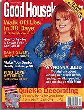 "Good Housekeeping - 2005, September - Wynonna Judd, Best ""Can't Sleep"" Cures"
