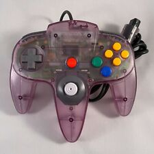 Official Nintendo 64 Atomic Purple Controller N64 OEM Original Tight Stick