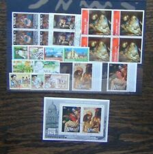 Niue 1967 1978 Christmas Government Hotel Services Paintings etc Used
