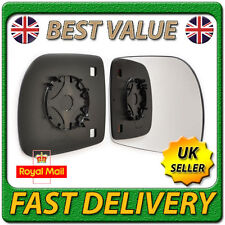 Right Driver Off Side Wing Door Mirror Glass for RENAULT KANGOO 1997-2001