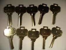 SCHLAGE  SC4 ON  HAGER KEY 6 PIN DEPTH  KEYS  0-9        LOCKSMITH