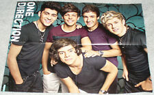 ONE DIRECTION 1D / SEXY RIHANNA GERMAN FOLD OUT POSTER 2012 IN GOOD CONDITION