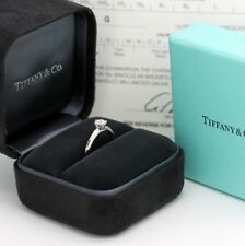 Tiffany & Co. Verlobungsring Platin 950-Gr.51 - Box & Zertifikat 0,41 ct - VVS2