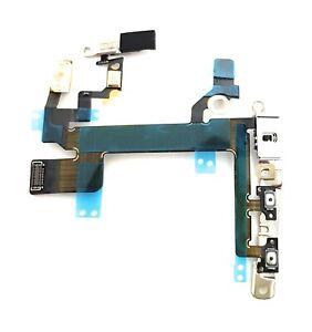 iPhone 5S An Aus Power Volume Mute Stummschalter Laut Leise Button Blitz Flex