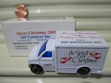 Matchbox Limited Edition 2001 CHRISTMAS FORD BOX TRUCK New MINT in MINT BOX