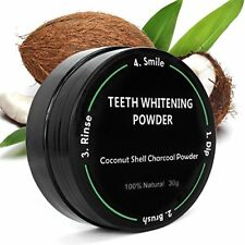 P & J Health All Natural Coconut Activated Charcoal Teeth Whitening Powder - ...