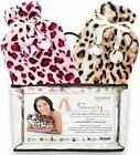 Hot Water Bottle & Cover - Set of 2 Hot Water Bottles & Furry Animal Print Cover