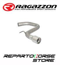 RAGAZZON SCARICO TERMINALE TONDO 90mm VW GOLF VI 6 1.6TDi DPF 77kW 104CV 09►13