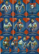 2016 NRL Traders Parallel NEWCASTLE KNIGHTS Team Set