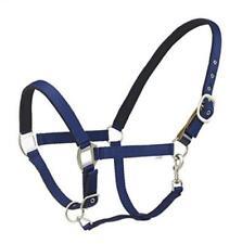 Centaur Cushion Web Breakaway Halter - Size:Horse Color:Navy
