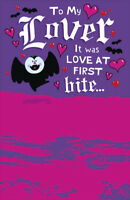 Love At First Bite Vampire BattyAbout You Valentine's Day Card Valentine Cards