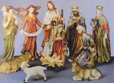 Christmas Nativity Set 60 cm 11 Piece Beautifully Decorated - Church or School
