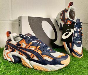 Asics GEL Nandi OG Men's Running Sport Shoes Size UK 7 EU 41.5 Purple Orange