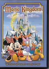 """Magic Kingdom"".""Where Dreams Come True"".Disney Theme Park Souvenir Dvd"