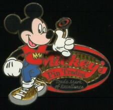 DLR Mickey's Trading Nights 2006 Mickey Flipping Coin LE 500 Disney Pin 50776