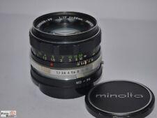 Minolta MC Rokkor-PF Objektiv 1,7/55mm an Pentax-K Bajonett (analog+digital)