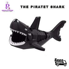 The Black Caribbean Pirates Shark Figure building Blocks Kids Mini figure Toys